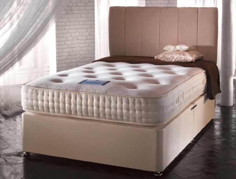 Dorchester 2000 pocket sprung divan set for Pocket sprung divan set