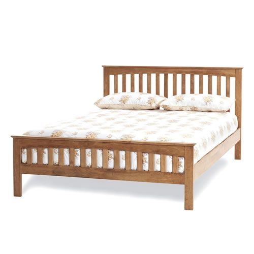 Amelia Honey Oak Small Double 4'0