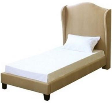 Chateaux Wing Bed Beige 3'0 Single