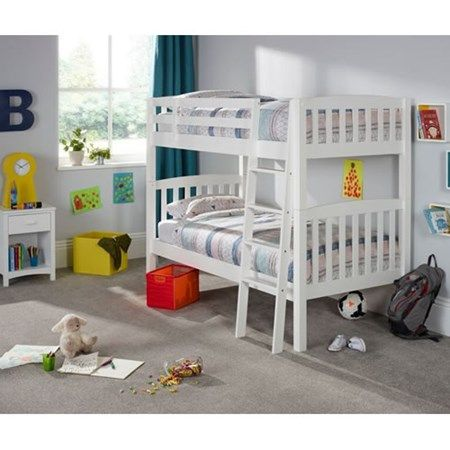 Ella Opal White Bunk Bed
