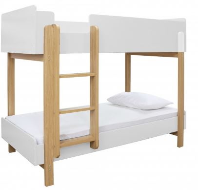 Hero Bunk Bed White/Oak