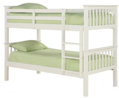 Leo Bunk Bed Off White