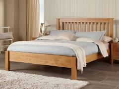 Lincoln American Oak Kingsize 5'0 Bedframe