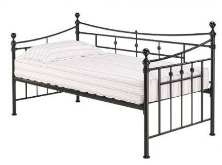Olivia Metal Bedframe Single 3'0 Black