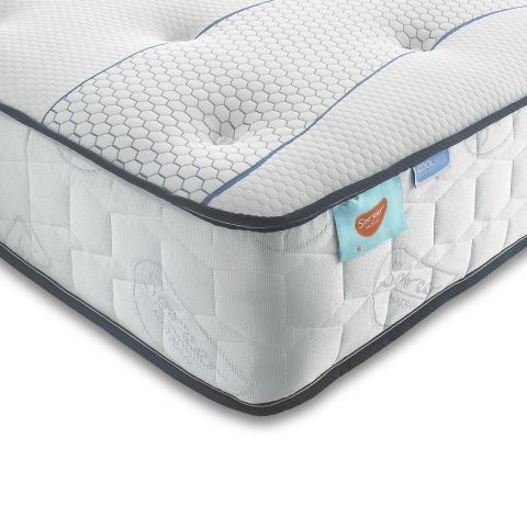 Sareer 1000 Pocket Sprung & Cool Blue Memory Foam Small Double 4ft Mattress